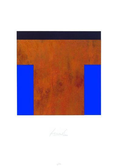 Schwarz-Rost-Blau-Juergen Freund-Limited Edition
