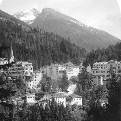 Schwarzenberg, Badgastein, Austria, C1900s-Wurthle & Sons-Photographic Print