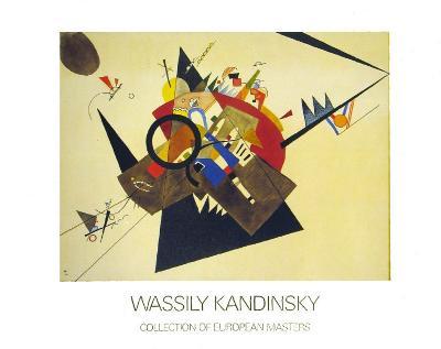 Schwarzes Dreieck, 1923-Wassily Kandinsky-Art Print