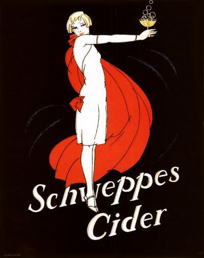 Schweppes Cider--Art Print