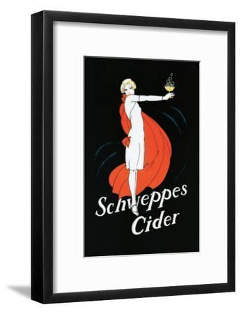 Schweppes Cider--Framed Premium Giclee Print