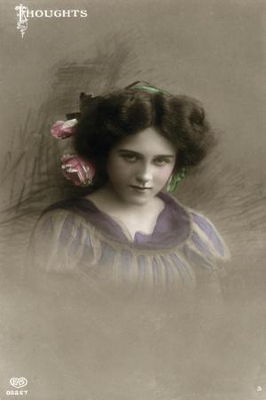 Thoughts, C1890-1910