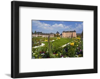 Schwetzingen Palace with Baroque Gardens, Schwetzingen, Baden-Wuerttemberg, Germany