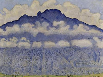 Schynige Platte, paysage de l'Oberland bernois, Suisse ou La Pointe d'Andey vue de Bonneville-Ferdinand Hodler-Giclee Print