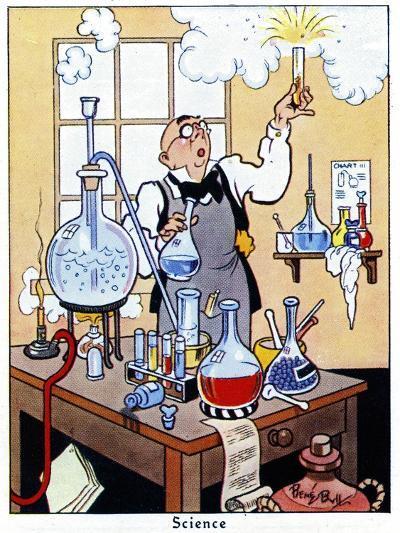 Science, 1936-René Bull-Giclee Print