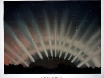 Aurora Borealis, 1872 by Science Business Library