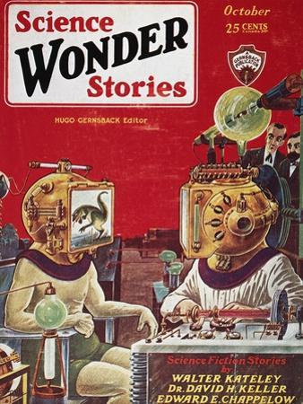 Science Fiction Cover, 1929