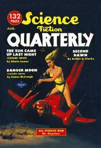 Science Fiction Quarterly: Attack from Atop Rocket Man