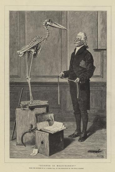 Science Is Measurement-Henry Stacey Marks-Giclee Print