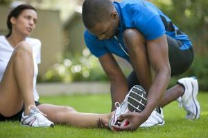 Ankle Injury by Science Photo Library