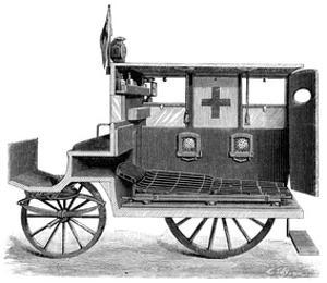 City Ambulance, 19th Century by Science Photo Library