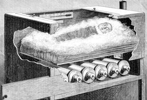 Early Baby Incubator, 19th Century by Science Photo Library