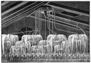 Fire Sprinklers, 19th Century by Science Photo Library