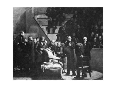First Use of General Anaesthesia, 1846