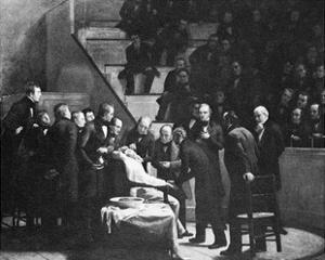 First Use of General Anaesthesia, 1846 by Science Photo Library
