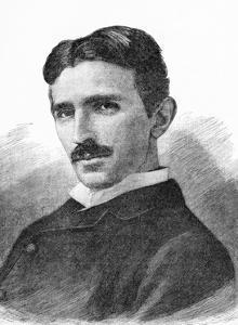 Nikola Tesla, Serb-US Physicist by Science Photo Library