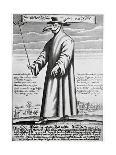 Plague Doctor, 17th Century Artwork-Science Photo Library-Giclee Print