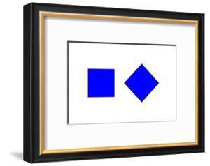 Square Illusion - Orientation by Science Photo Library