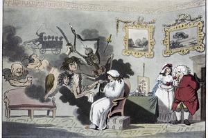 The Hypochondriac, Satirical Artwork by Science Photo Library