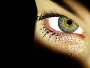 Woman's Eye by Science Photo Library