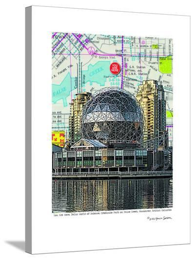Science World Vancouver--Stretched Canvas Print