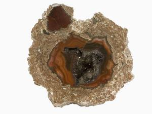 Thunderegg Geode with Quartz and Agate, New Mexico, USA by Scientifica