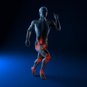 Running Injuries, Conceptual Artwork by SCIEPRO