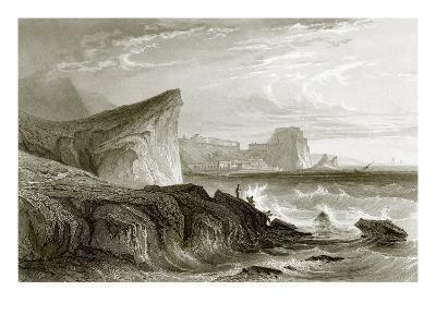 Scilla and Charybdis, Sicily-English-Giclee Print