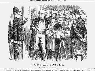Scinece and Stupidity, 1876-Joseph Swain-Giclee Print