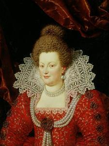 Portrait of Marie de Medici by Scipione Pulzone