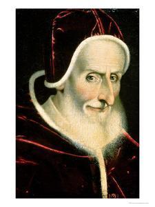 Portrait of Pope Pius V (Michele Ghislieri) (1504-72) 1576-80 by Scipione Pulzone