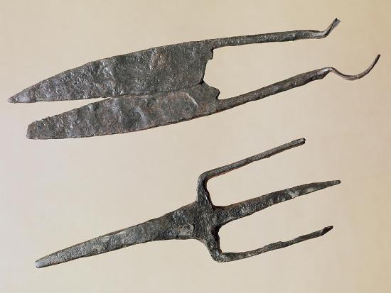 Scissors and Trident, Gallo-Roman Civilization--Giclee Print