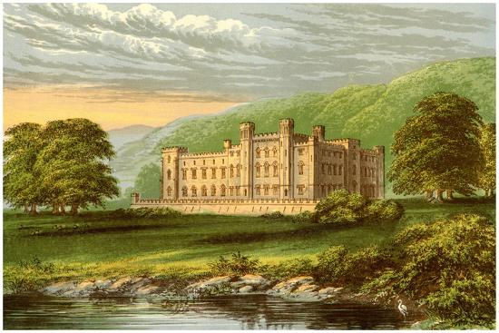Scone Palace, Perthshire, Scotland, Home of the Earl of Mansfield, C1880-Benjamin Fawcett-Giclee Print