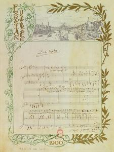 Score of the Opera, 'Don Carlos', by Giuseppe Verdi (1813-1901) Written on Paper Printed for the…