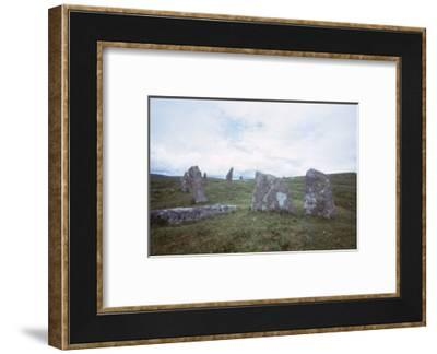 Scorhill Stone Circle, Dartmoor, Devon, 20th century-CM Dixon-Framed Photographic Print