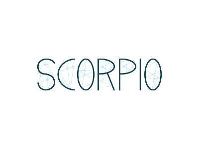 Scorpio Alphabet--Art Print