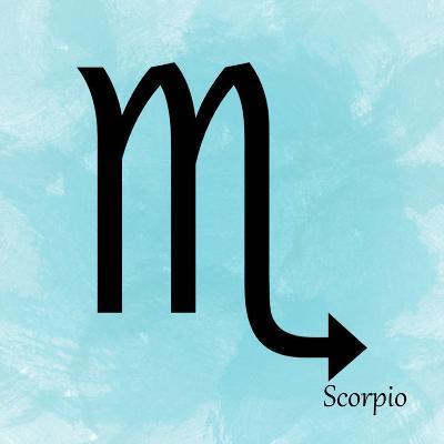 Scorpio - Aqua-Veruca Salt-Art Print