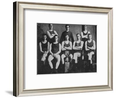 'Scotch and Irish Champions ', 1900-FP D'Arcy-Framed Photographic Print