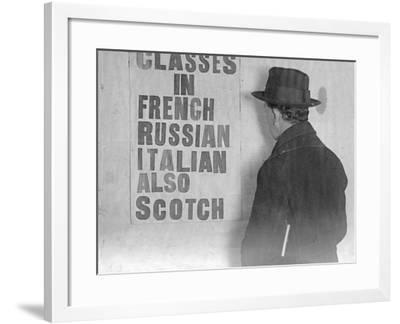 Scotch Class-General Photographic Agency-Framed Photographic Print