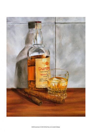 Scotch Series II-Jennifer Goldberger-Art Print