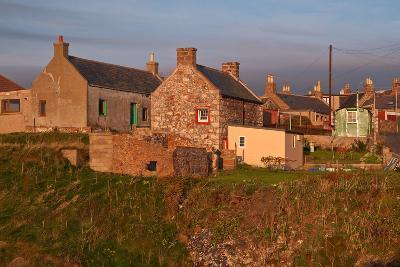 Scotland, Buchan Ness, Houses-Thomas Ebelt-Photographic Print
