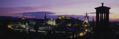 Scotland, Edinburgh Castle--Premium Photographic Print
