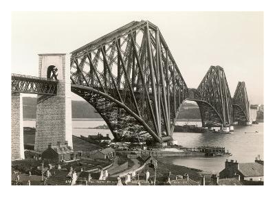 Scotland: Forth Bridge--Giclee Print