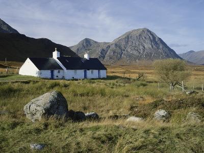 Scotland, Highlands, Glencoe, Croft by Mountains-Roy Rainford-Photographic Print