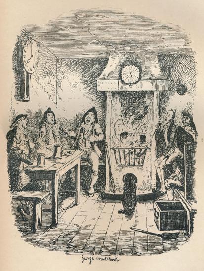 Scotland Yard, C1900-George Cruikshank-Giclee Print