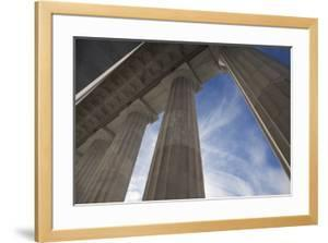Columns of the Lincoln Memorial by Scott S^ Warren