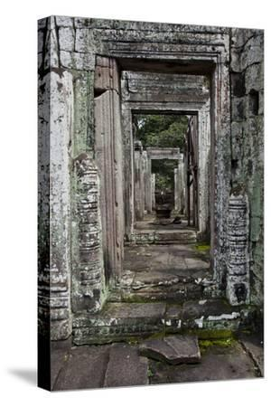 Doors in a Row at the Angkor Thom Temple