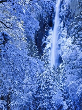 Bridal Vel Falls, Yosemite National Park, California, USA