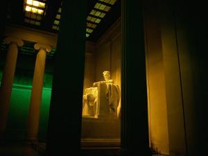 An Interior View of the Lincoln Memorial by Scott Sroka