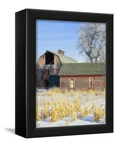 Barn in Winter by Scott T. Smith